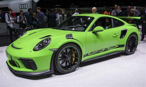 Motor Show 2019 :  2019 Porsche 911 Gt3 Rs