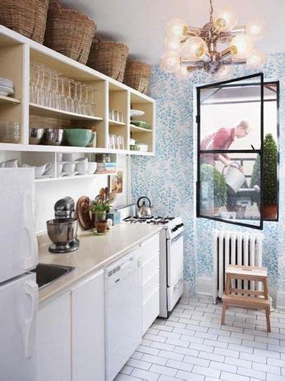 small kitchen storage put baskets   cabinets