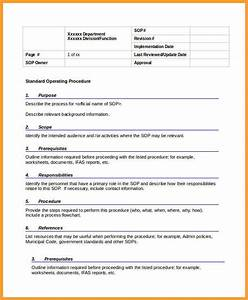 Writing Policies And Procedures Template 5 Blank Policy And Procedure Template Daddy Anarchy