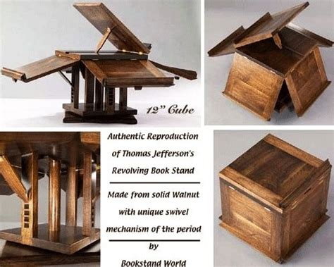 jefferson book stand plans woodworking projects plans