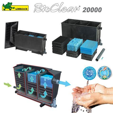 filtre pour bassin ext 233 rieur bioclear 20000 1355056 ubbink 7