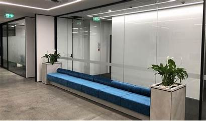 Office Glass Aluminium Partition Partitions Partitioning Benefits