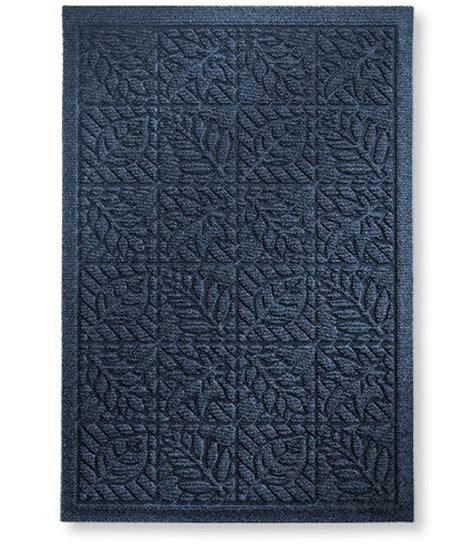 waterhog doormat waterhog indoor doormat leaf pattern 21 quot x 32 quot