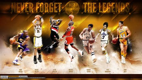 greatest nba shooting guards   time wallpaper
