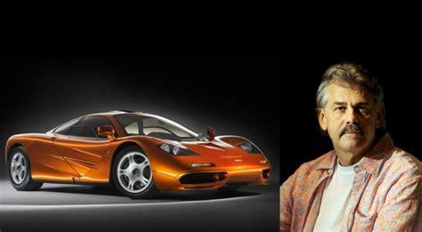 Mclaren F1 Designer by Gordon Murray I Ve Got One More Supercar Left In Me