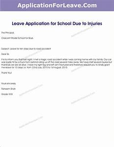 Sick Leave Application for Students