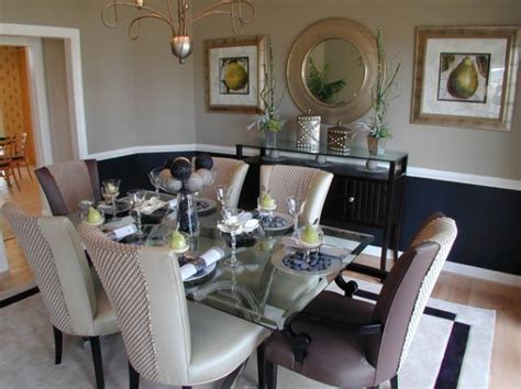 dining room two tone paint ideas paint dipped walls a colorful trend in interior d 233 cor Dining Room Two Tone Paint Ideas