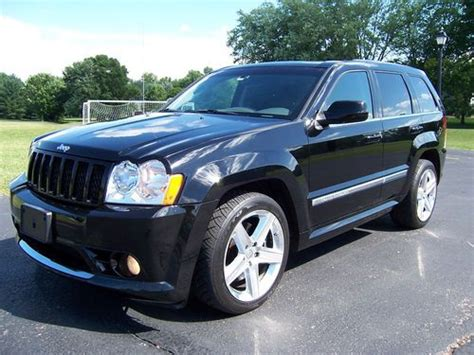 jeep srt 2007 purchase used 2007 jeep grand cherokee srt 8 awd nav