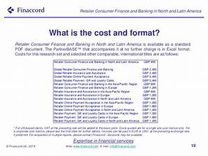 Retailer Consumer Finance and Banking in North and Latin ...
