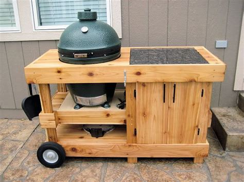 plans for large green egg table pin by steven baum on workbenches pinterest