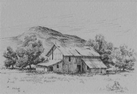 landscape drawings jr cook artist
