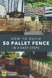kitchen gardening ideas how to build a pallet fence for almost 0 and 6 plans ideas