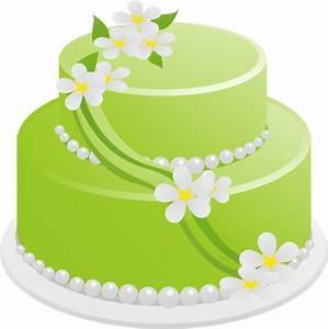 Green Birthday Cake Clip Art at Clker.com - vector clip ...
