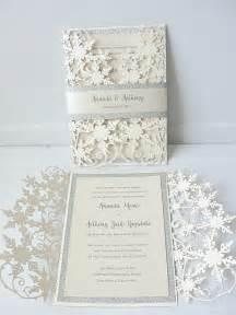 indian wedding card design winter wedding invitation snowflake wedding invite