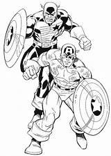 Coloring Daredevil Pages America Captain Template Comics Marvel Kidsdrawing Printable Popular Coloringhome sketch template
