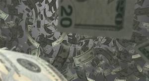 Stacks Of Money Falling Stock Footage Video 12275696 ...