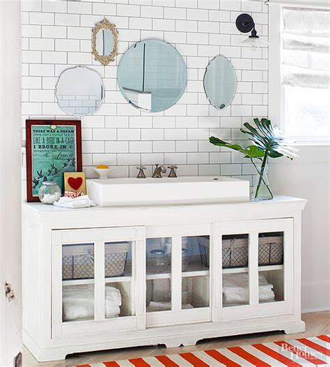 Diy Bathroom Vanity Ideas by 14 Ideas For A Diy Bathroom Vanity