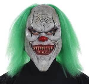 Morris costumes mr-131301 evil clown mask - White, One size