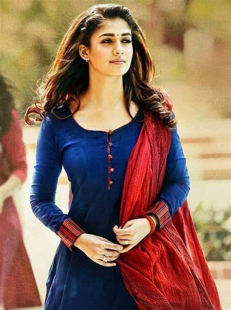 nayantara kollywood fashion dress neck designs salwar