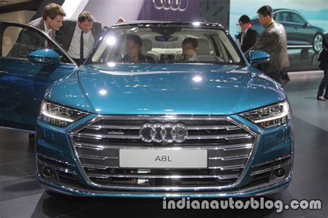 2018 Audi A8 L Front At 2017 Tokyo Motor Show