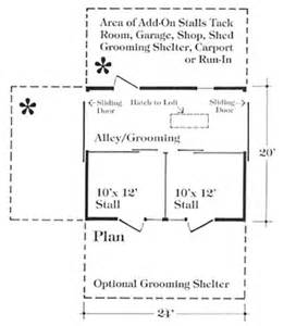 Small Horse Barn Plans