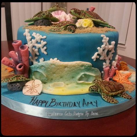 turtle decorations for cakes sea turtle cake all fondant decorations im the