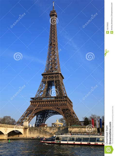 eiffel tower paris france stock photography image