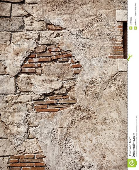 rustic brick walls old rustic stone and brick wall texture stock photo image 40478859