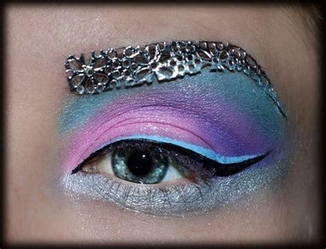 pink creative   create  dramatic eye makeup