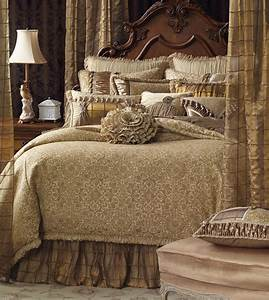 Marquise Luxury Bedding by Eastern Accents - LUCERNE GOLD