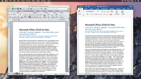 technology news get mac office 2016 15 11 2 microsoft office 2011 for mac vs office 2016 for mac Microsoft