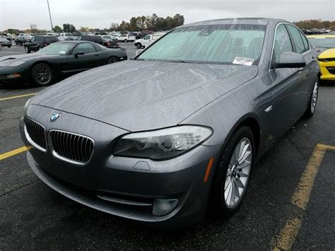 Bmw 535i For Sale by Used 2011 Bmw 535i Car For Sale At Auctionexport