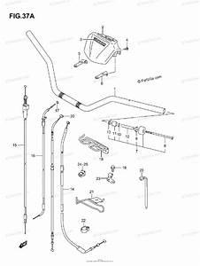 Suzuki Atv 2005 Oem Parts Diagram For Handlebar  Model K5  K6  K7