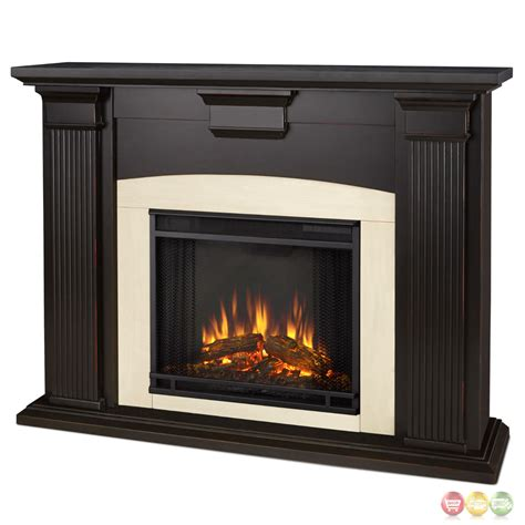 electric heater fireplace adelaide electric led heater fireplace in antique black