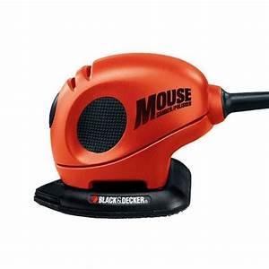 Ponceuse Black Et Decker : ponceuse mouse 55 w sac et accessoires black decker ~ Dailycaller-alerts.com Idées de Décoration