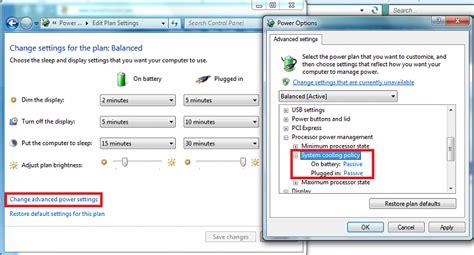 fan control windows 10 laptop fan loud while doing nothing solved windows 7