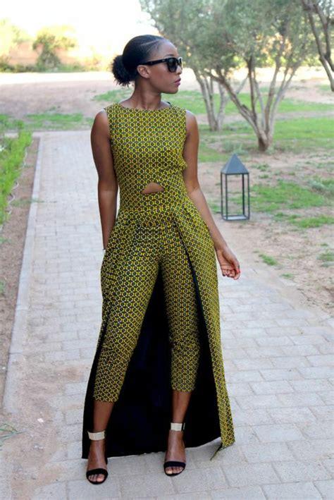 Robe Wax Africain 1001 Exemples De Couture Africaine Chic De Nos Jours