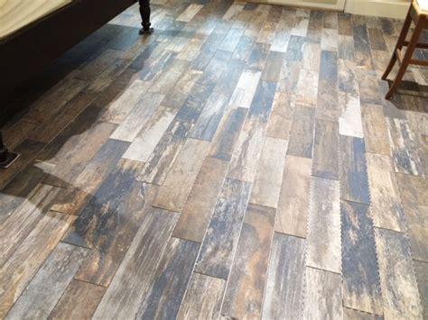 Hometalk   Vintage Woodlands Wood Tile Flooring