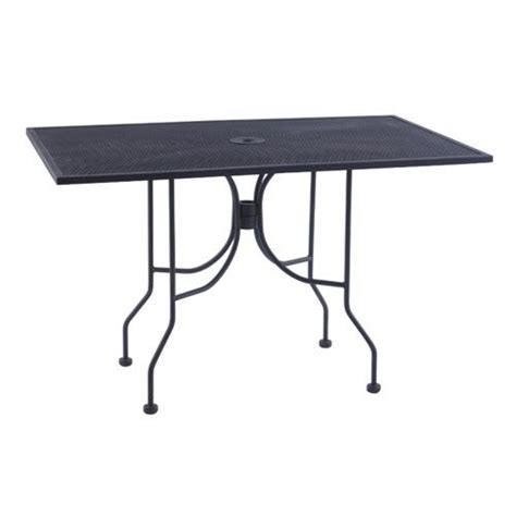 american tables and seating ab3048 30 quot x 48 quot black mesh