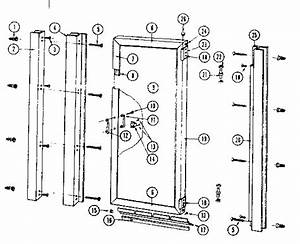 Sears Sears Hinged Shower Door Parts