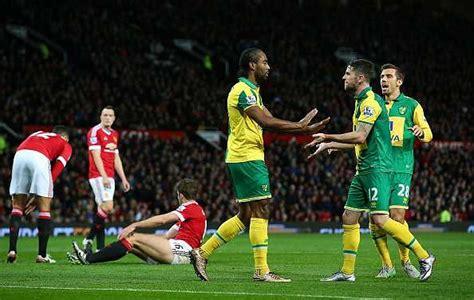 Premier League: Norwich City vs Manchester United - Team ...
