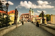 Klodzko in Poland editorial photography. Image of clouds ...