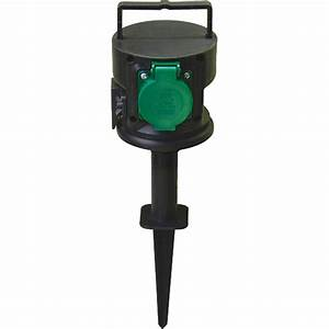 Gartensteckdose Ohne Zuleitung : gartensteckdose 2 fach ts electronic led licht ~ A.2002-acura-tl-radio.info Haus und Dekorationen