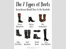 The 7 Types of Boots Every Woman Should Have In Her