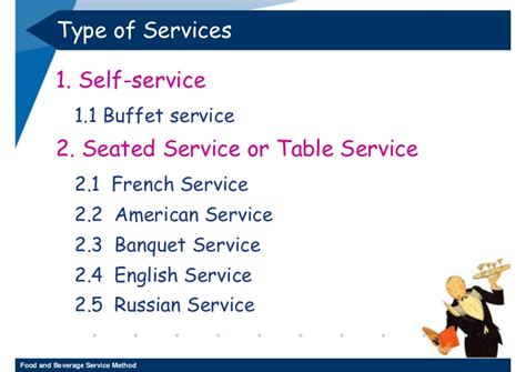 12 Food And Beverage Service Method 3-2552