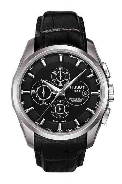 Tissot Automatic Couturier Chronograph Prc Leather Strap