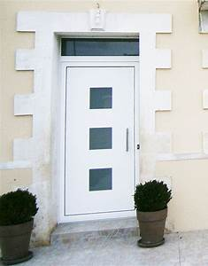 portes d39entree With porte d entrée pvc avec panneau muraux salle de bain