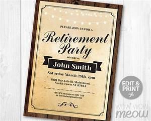 You Are Cordially Invited Invitations Retirement Party Invitation Retired Invite Instant