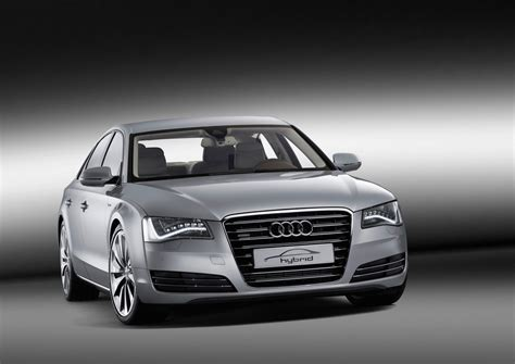 Audi A8 Hybrid Concept Has A 4 Cyl But Has Power Like A V6