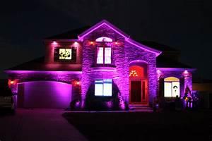 Purple flood light bocawebcam